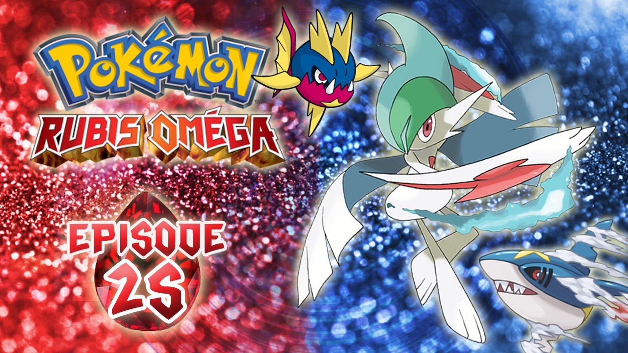 Pok mon rubis om ga pisode 25 evolution party route victoire let 39 s play fran ais youtube - Pokemon version rubis evolution ...