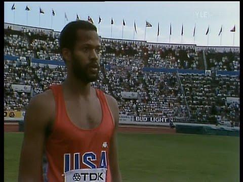Men's Triple jump - Helsinki 1983 - 50 fps