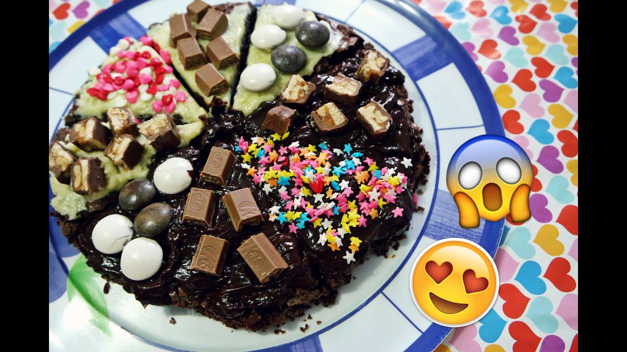 How To Make A Chocolate Brownie Pizza