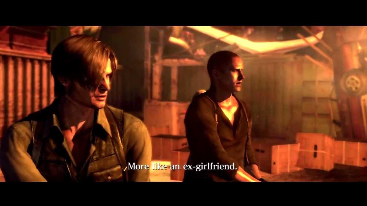 Resident Evil 6 Jake Sherry And Ustanak Tribute Youtube