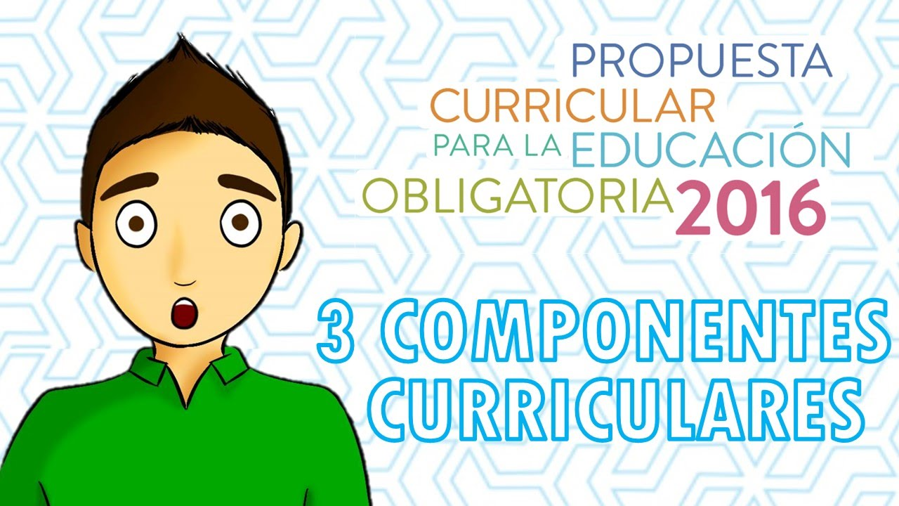 3 COMPONENTES CURRICULARES 2016 - YouTube