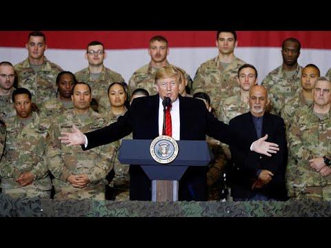 ترامب خلال زيارة مفاجئة لأفغانستان: حركة طالبان تريد -إنجاز اتفاق-…