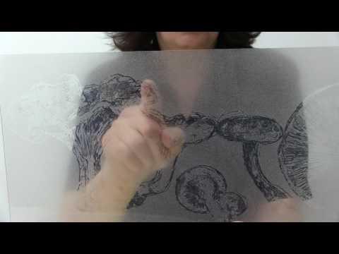 Carborundum Mezzotype: Dark Field/Reductive Techniques with Akua Carborundum Gel