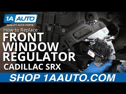 How to Replace Front Window Regulator 10-15 Cadillac SRX