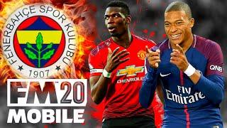 Fenerbahçe Rebuild, Manager Tatilde! Football Manager 2020 Mobile