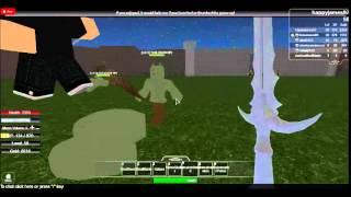 (Gioco fantastico) The Forsaken Sword Legacies Gamesplay (Di turbo236) Roblox