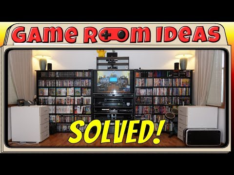 Game Room Ideas - New Entertainment Center Idea or My Living Room, Solved!