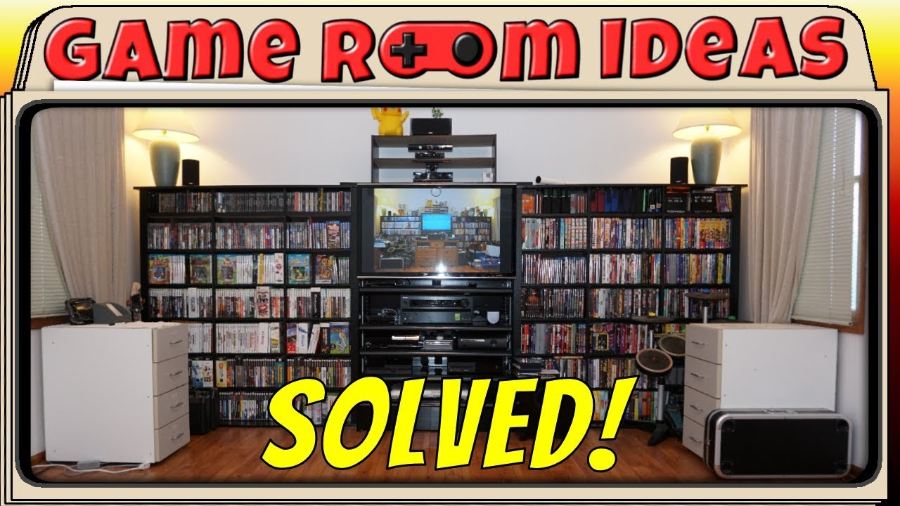game room ideas new entertainment center idea or my living room solved youtube. Black Bedroom Furniture Sets. Home Design Ideas