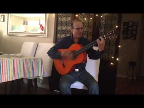 'Volare' Flamenco Rumba Cover by Tomas Ballesteros