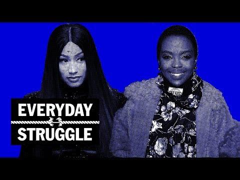 Nicki Minaj 'Queen' Promo Run Spirals Into Messy Fight Over Lyrics | Everyday Struggle