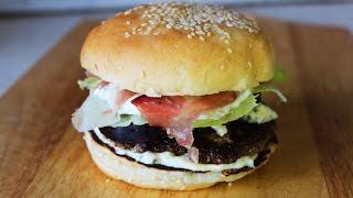 Бургер с инжиром / Burger with a fig