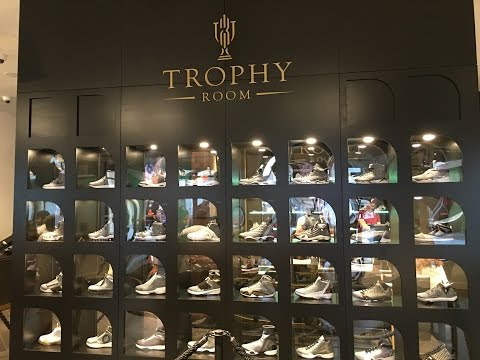 Trophy Room - Michael Jordan Store - Disney Springs, FL -25 May 2016
