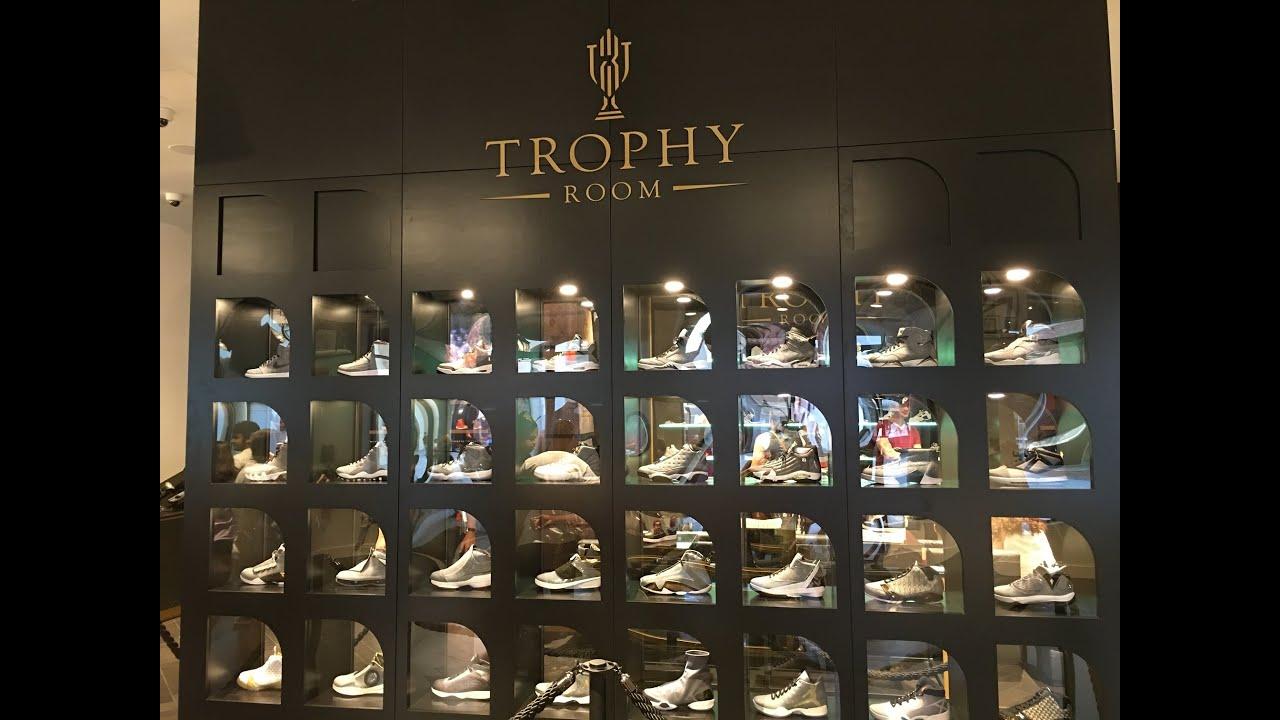 Trophy Room - Michael Jordan Store