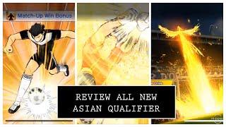 Review All New Asian Qualifier Player - Captain Tsubasa Dream Team