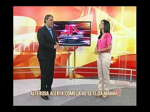 Novo jornal da TV Alterosa estreia na próxima segunda-feira