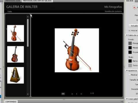 Como hacer una galeria de fotos en dreamweaver 32