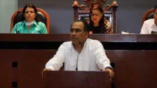 13-11-14 Diputado Héctor Astudillo en tribuna del Congreso del Estado