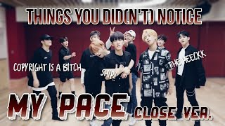 THINGS YOU DID(N'T) NOTICE in My Pace Dance Practice [Close up Ver.] // Stray Kids