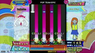 【ポップンミュージック peace】 POP TEAM EPIC(EX) ※無音