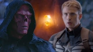 MARVEL REVEALS How Captain Returned The Soul Stone To RED SKULL & What Happened - Avengers Endgame