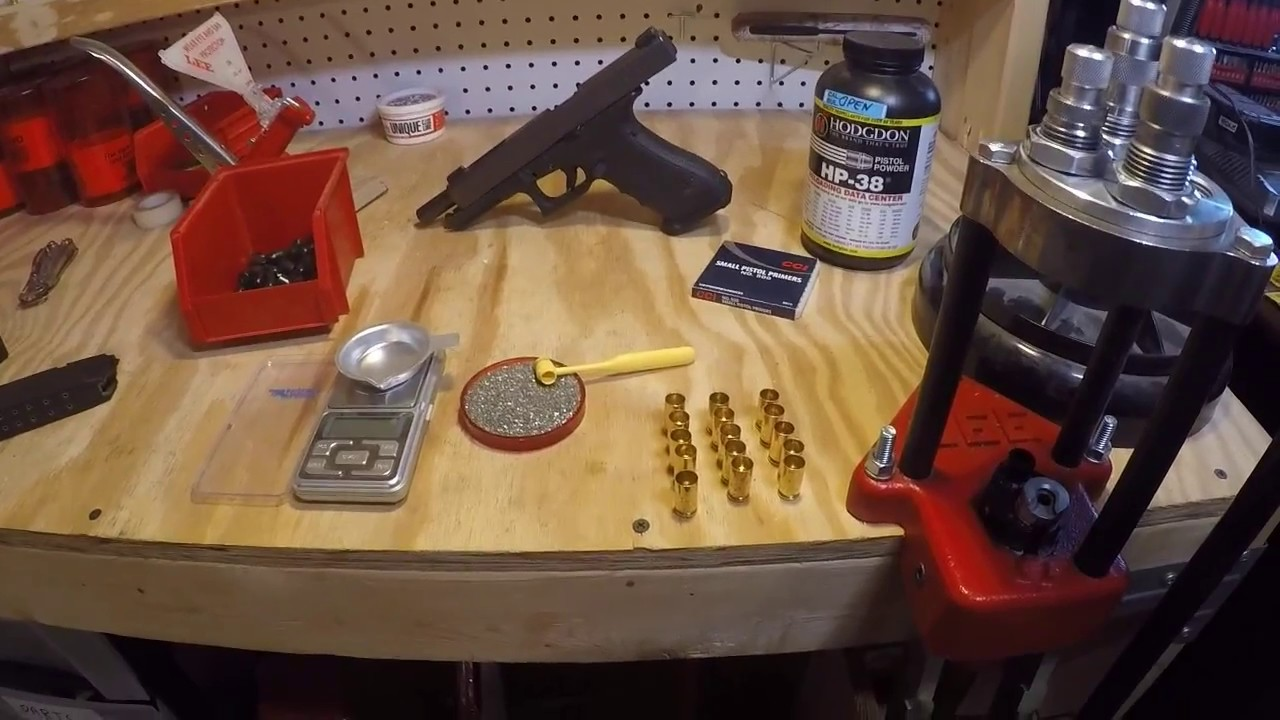 Developing load data for the Glock 35 40 S&W