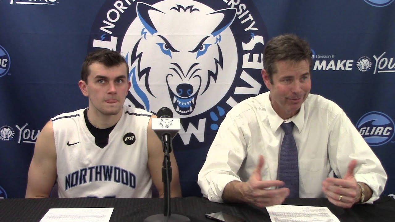 Northwood University Men S Basketball 2 13 16 Nu 79 Gvsu 73
