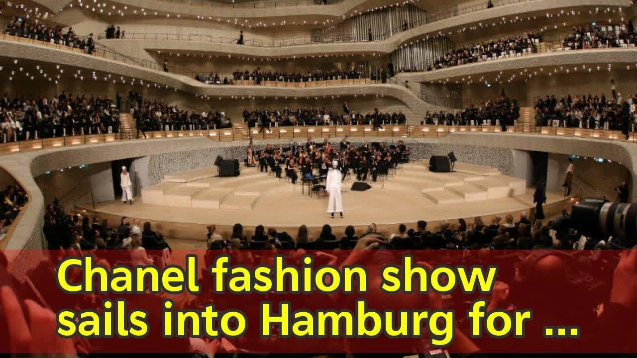 Stehlen Hamburg chanel fashion sails into hamburg for lagerfeld homecoming