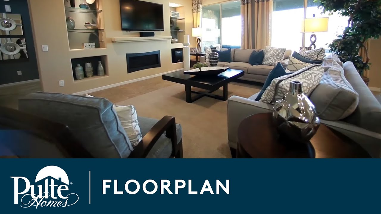 New Homes by Pulte Homes Butte Floorplan YouTube – Pulte Homes Floor Plan