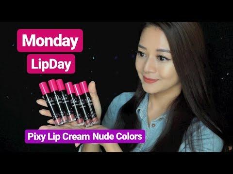 pixy-lip-cream-warna-baru-|-nude-colors-|-monday-lipday
