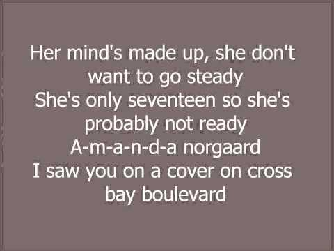 The Vaccines - Norgaard Lyrics (on screen)