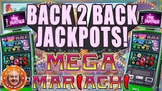 🌶️ MEGA MARIACHI JACKPOT$! 🌶️Back To Back WINS on Pink Panther Slots!