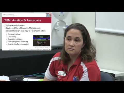 ECU - Beginner Simulation Instructor Training  - 3.  Crisis Resource Management
