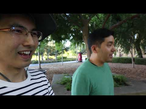 PG Podcast Hour with Robert Ikeda 19 - walking around Stanford campus reminiscing about grad school