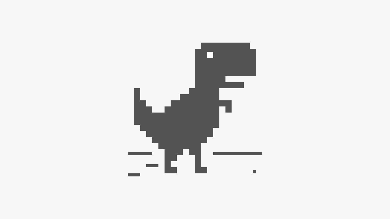 T Rex Runner Google Chrome Game 3448 High Score 001