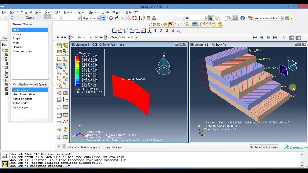 Finite Element Analysis Of Composite Materials Using Abaqus Pdf