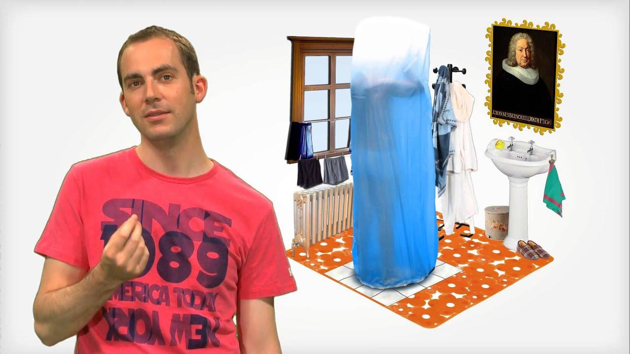 KEZAKO: Pourquoi le rideau de douche colle à la peau ? - YouTube