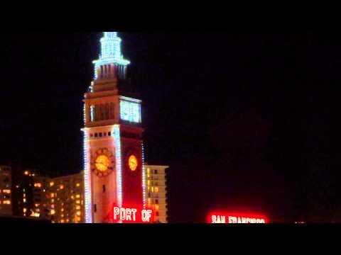 Port of San Francisco 1915 Panama-Pacific International Exposition lights