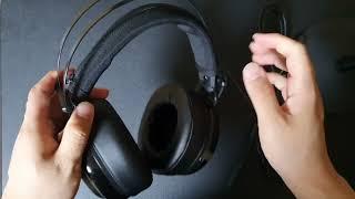 콕스 COX CH42 헤드폰 헤드셋 헤드밴드 쿠션 가죽…
