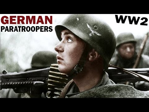 German Paratroopers in WW2 | Occupation of Holland in 1940 | Sky-Blitz | Captured German Film