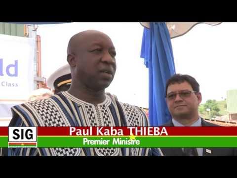 Roxgold Inaugural ceremony in Burkina Faso News - French