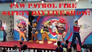 PAW PATROL LIVE! Fire Safety Day Show at City Square Mall, Singapore!