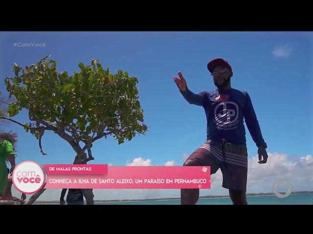 De Malas Prontas: conheça a Ilha de Santo Aleixo, um paraíso pernambucano- Com Você