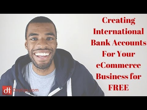 International bank accounts for your Amazon, eBay or Rakuten Business