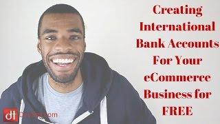 International bank accounts for your Amazon, eBay or Rakuten Business