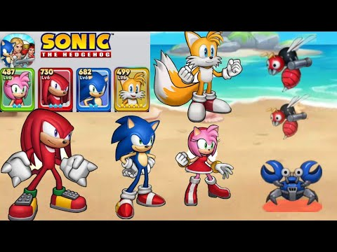 Sonic The Hedgehog || SEGA HEROES || (Android,ios) Gameplay - Walkthrough