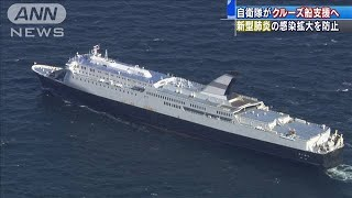 自衛隊がクルーズ船支援 新型コロナ感染拡大を防止(20/02/06)