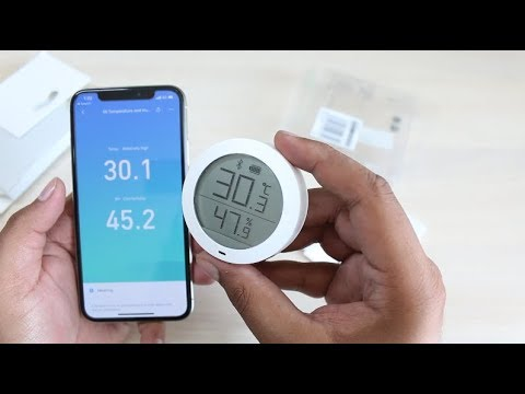 Xiaomi Mi Temperature and Humidity Monitor Unboxing & Quick