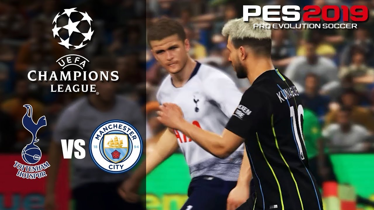 Tottenham Hotspur vs Manchester City (1st leg) - Champions ...