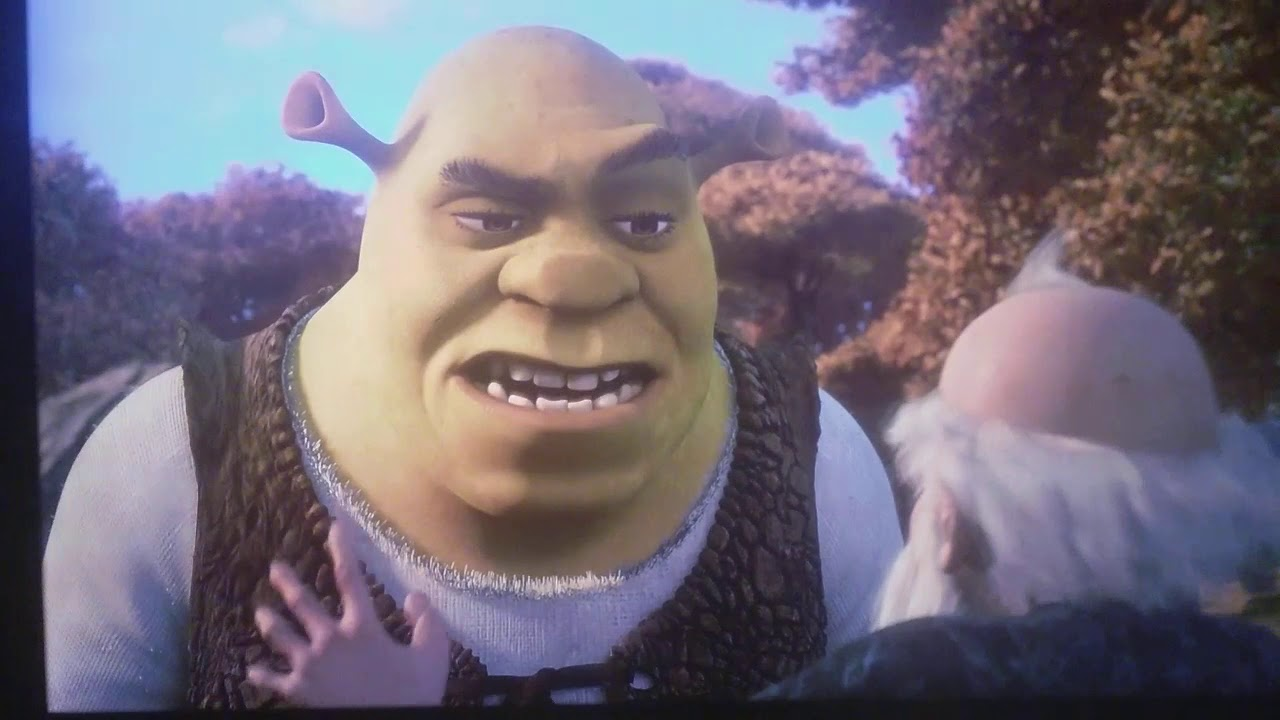 Shrek the Third Primal scream Therapy Scene