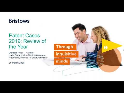 Patent Cases 2019: Review Of The Year